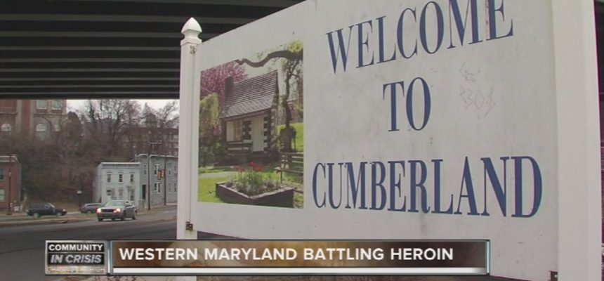 Big heroin problem in small town Cumberland, Maryland