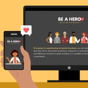 Be a Hero: An Important Message from the MD Department of Health